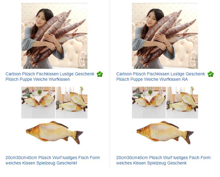 Fischkissen