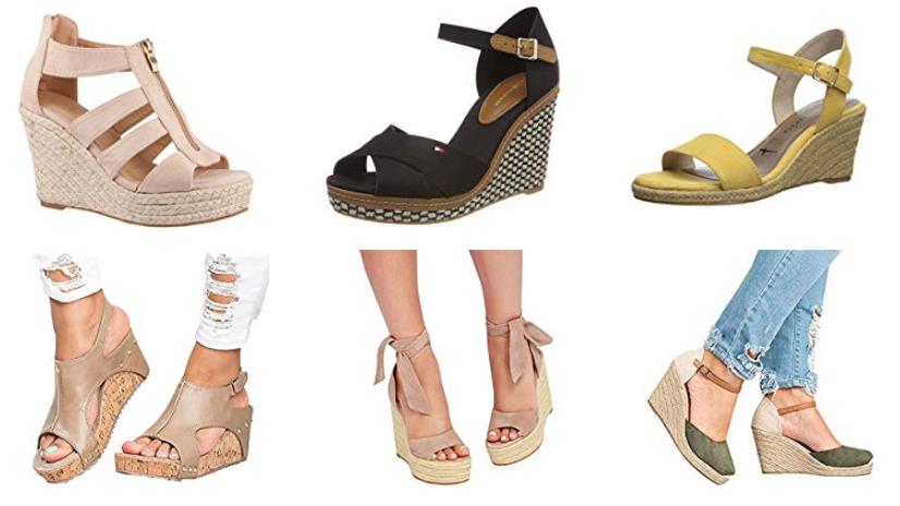 Wedges-Schuhe für Damen