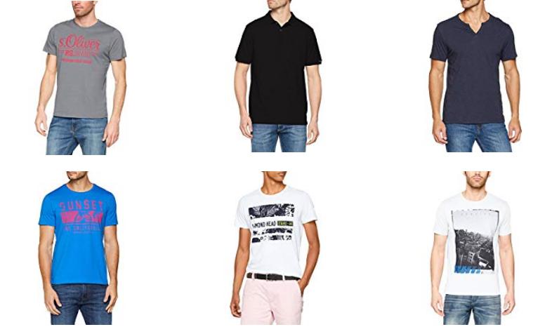 s.Oliver Herren T-Shirts