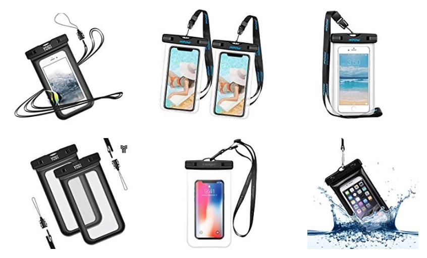 wasserdichte Hüllen für Handy & Smartphones