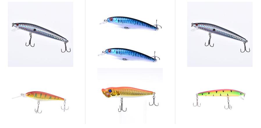 Angelköder & Fischköder 1 Euro Minnow Fishing Lure