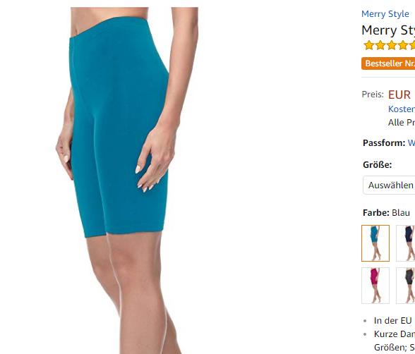 kurze Leggings für Frauen von Merry Style