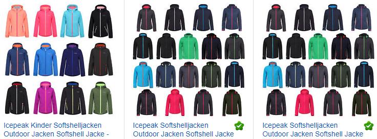 Icepeak Softshell-Jacken