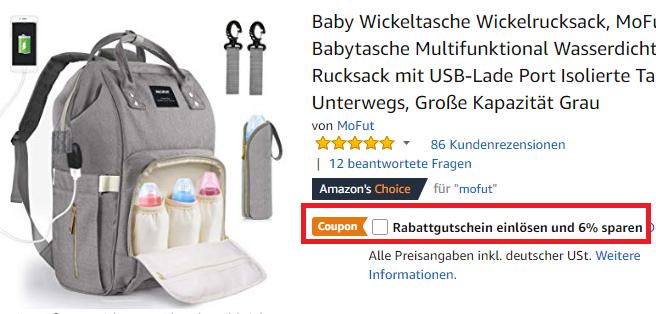 Wickelrucksack