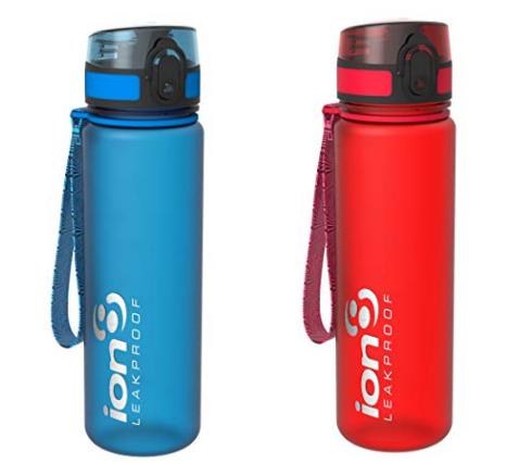 auslaufsichere Wasserflasche von ion8