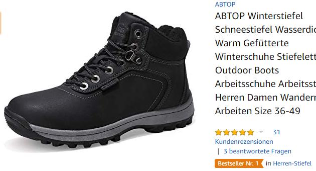 ABTOP Winterstiefel