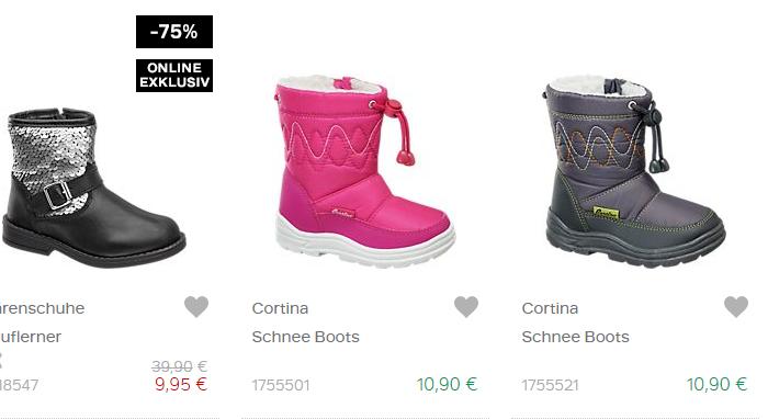 billige Kinderstiefel: 9,95€ bei Deichmann! —
