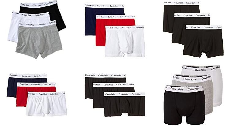 Calvin Klein Herren Boxershorts 3er Pack