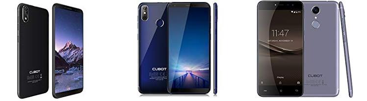 Cubot Smartphones unter 100 Euro