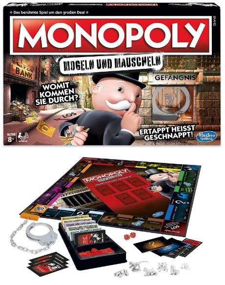 Monopoly für Betrüger und Bescheisser - neue lustige Version