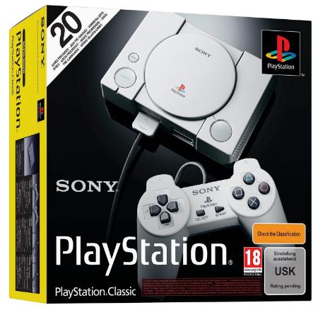 Sony Playstation Classic - die neue Minikonsole mit Retrospielen