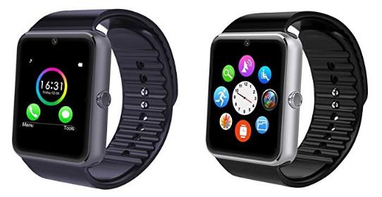 intelligente Armbanduhr und schlauer Fitness-Tracker
