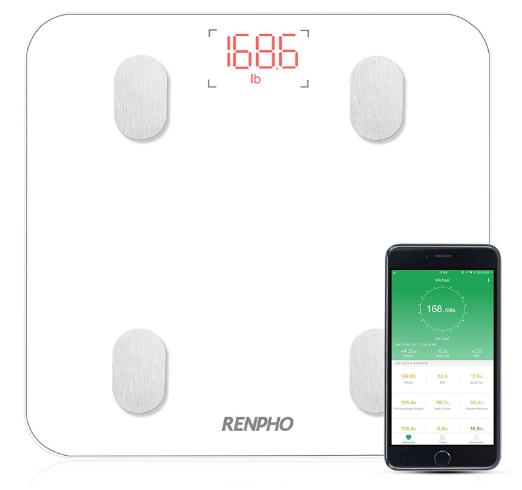 RENPHO Körperfettwaage mit App