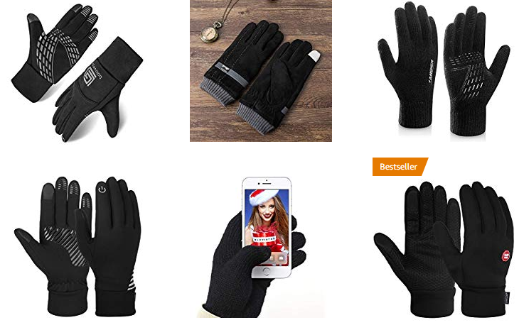 Winter Touchscreen Handschuhe