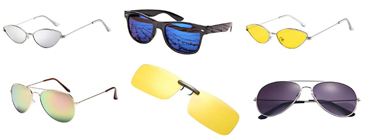 Amazon Angebote - Herren-Sonnenbrillen