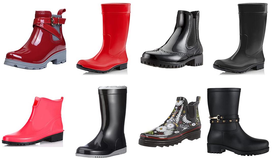 online store 2548a 7c864 Damen-Regenstiefel unter 20€ mit Amazon-Versand ...