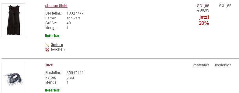 Sheego Gutschein 2012 10 Euro und Gratisartikel